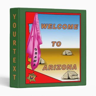 Arizona Welcomes Obama 3 Ring Binders