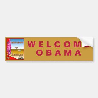 Arizona Welcomes Obama Bumper Sticker