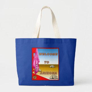 Arizona Welcomes Obama Jumbo Tote Bag