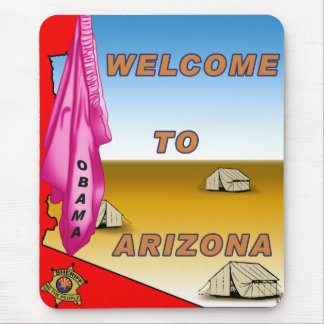 Arizona Welcomes Obama Mouse Pad