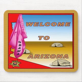 Arizona Welcomes Obama Mouse Pads