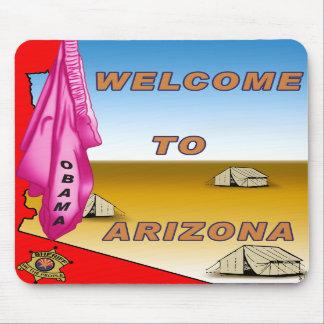 Arizona Welcomes Obama Mousepads