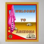 Arizona Welcomes Obama Poster