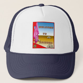 Arizona Welcomes Obama Trucker Hat