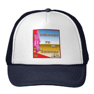 Arizona Welcomes Obama Trucker Hat