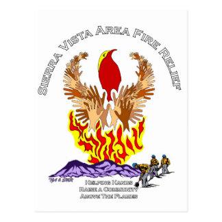 Arizona Wildfire Relief Shirt Postcard