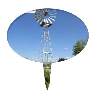 Arizona Windmill Cake Pick