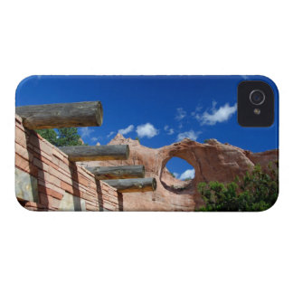 Arizona, Window Rock. Capital of the Navajo iPhone 4 Case-Mate Cases