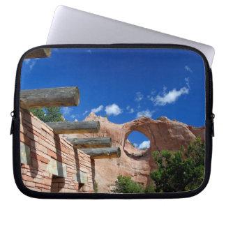 Arizona, Window Rock. Capital of the Navajo Laptop Computer Sleeves