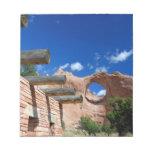 Arizona, Window Rock. Capital of the Navajo Notepad