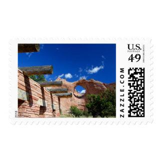 Arizona, Window Rock. Capital of the Navajo Postage Stamp