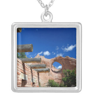 Arizona, Window Rock. Capital of the Navajo Silver Plated Necklace