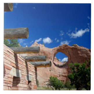 Arizona, Window Rock. Capital of the Navajo Tile