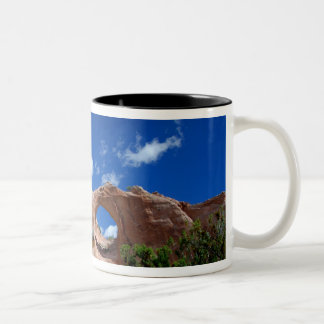 Arizona, Window Rock. Capital of the Navajo Two-Tone Coffee Mug