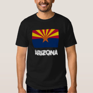 Arizona with State Flag T-shirt