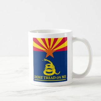 Arizona y bandera de Gadsden Taza Clásica