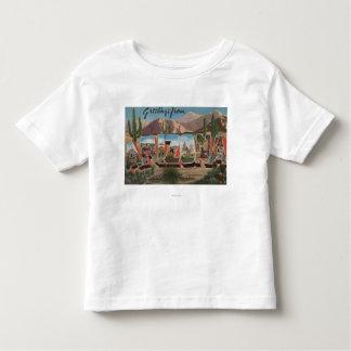 ArizonaCactusLarge Letter ScenesArizona Toddler T-shirt