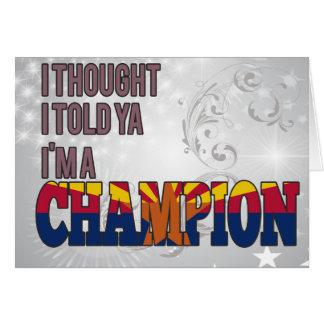 Arizonan and a Champion Cards