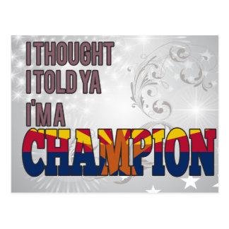 Arizonan and a Champion Postcards