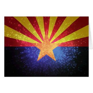 Arizonan Flag Greeting Cards