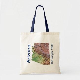 Arizonan Map Bag