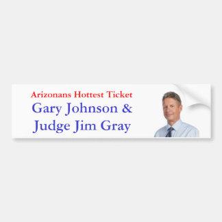 Arizonans Hottest Ticket Car Bumper Sticker