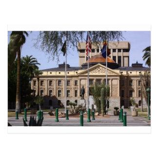 Arizona's capital building postcard