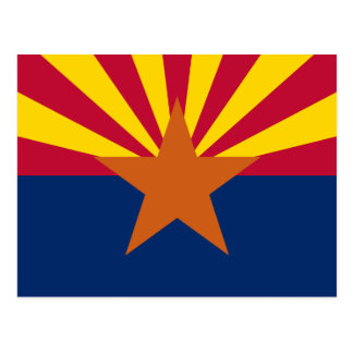 Arizona's Flag Postcard