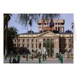 Arizona's State Capital Card