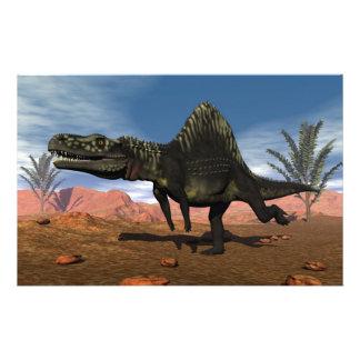 Arizonasaurus dinosaur - 3D render Stationery