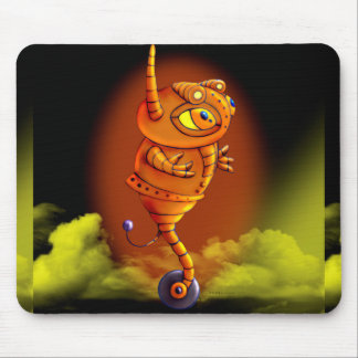 ARJA ALIEN MONSTER CARTOON MOUSE PAD