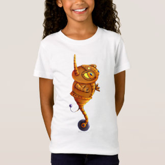 ARJA CAT ROBOT ALIEN  Bella+Canvas T-Shirt