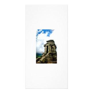 Arjuna temple photo card template