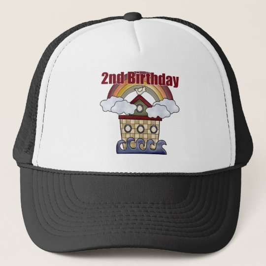 Ark 2nd Birthday Gifts Trucker Hat