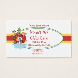 Ark Child Care Business Card