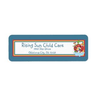 Ark Child Care Return Label Return Address Label