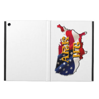ARK HT the USA map&flag Cover For iPad Air