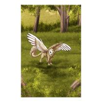 Arkaen - Barn Owl Gryphon Stationery