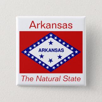 Arkansan Flag Button