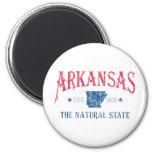 Arkansas 2 Inch Round Magnet