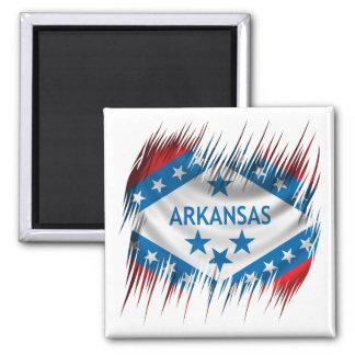 Arkansas 2 Inch Square Magnet
