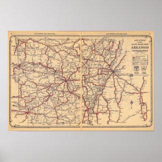 Arkansas 4 print