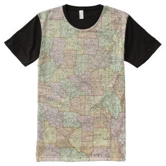 Arkansas 6 All-Over print t-shirt