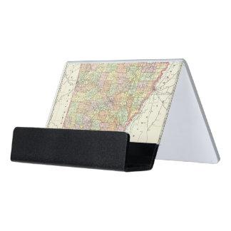 Arkansas 6 caja de tarjetas de visita para escritorio