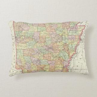 Arkansas 6 accent pillow