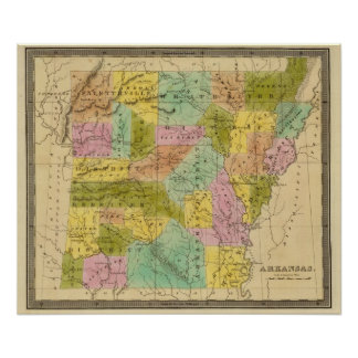 Arkansas 9 print