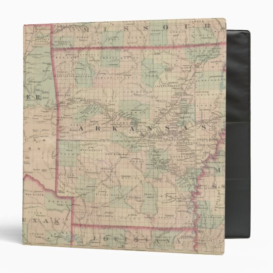 Arkansas and portion of Indian Territory 3 Ring Binder