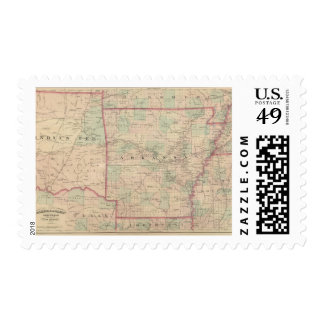 Arkansas and portion of Indian Territory Postage