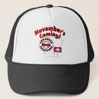 Arkansas Anti ObamaCare – November's Coming! Trucker Hat