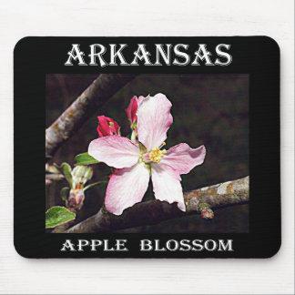 Arkansas Apple Blossom Mouse Pad
